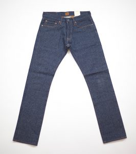 RAY: GreyBlue Twill, 14,3 Oz, Unwashed