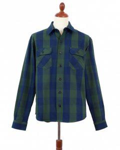 ndigofera-Norris-Shirt-NavyGreen